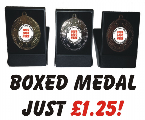 Boxed Medal Special 50mm